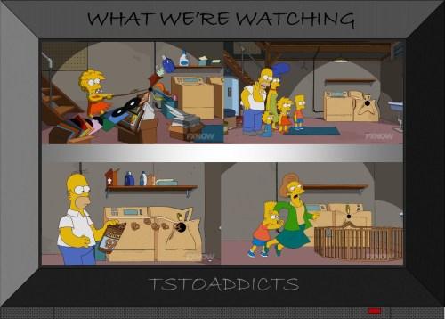 The Greatest Story Ever Holed Simpsons Basement Black Hole episode