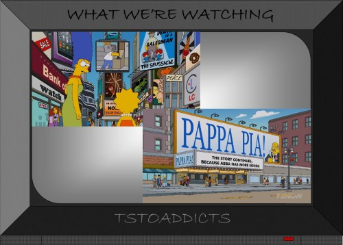 Times Square Death of a Salesman The Seussical Pappa Pia Simpsons