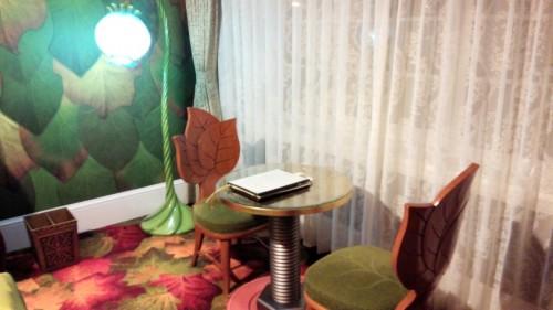 DSC 4153 500x281 【ディズニーランドホテル】ティンカーベルルームに宿泊しました!
