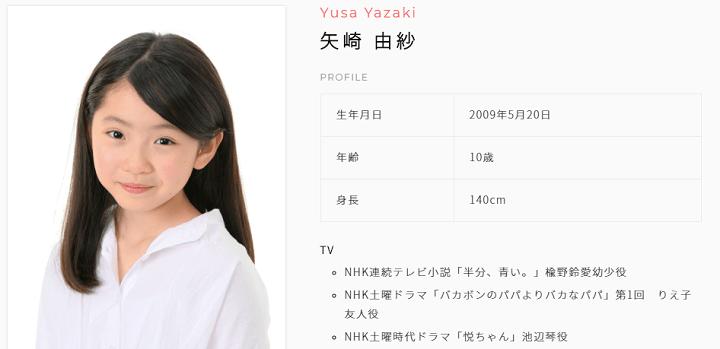 矢崎由紗 ドラマ