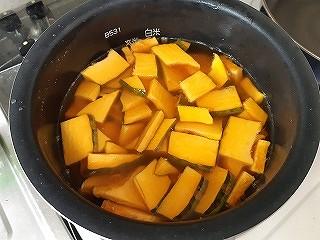 かぼちゃ 炊き込みごはん