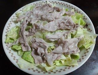 キャベツ 豚肉 レンジ