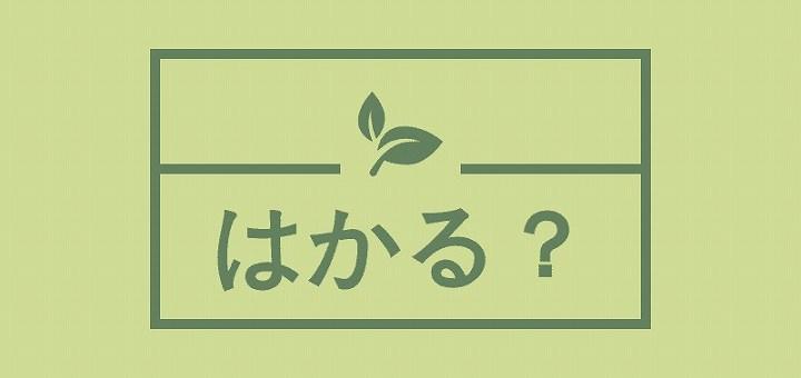 はかる 使い分け 漢字