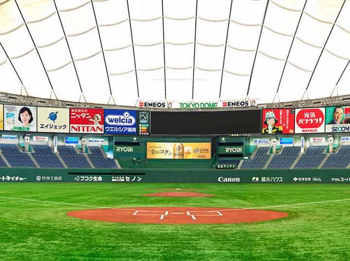 東京ドーム 面積 平方m