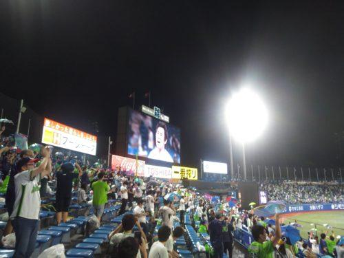 神宮球場レポート0724-0726