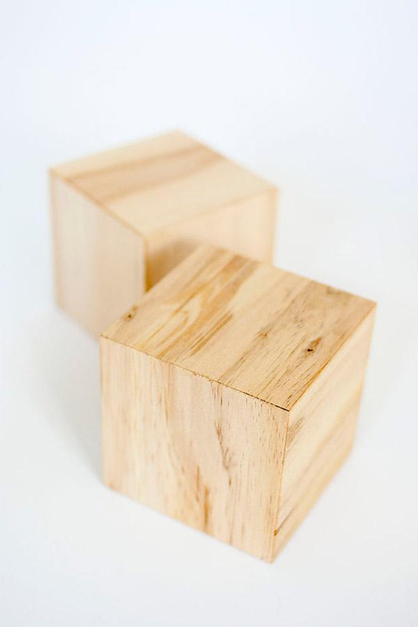 小さなブロック棚素材