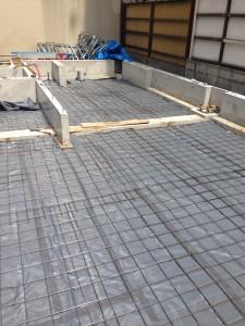 防湿、防蟻シートと補強金網