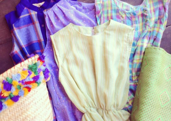 used clothes&brocante