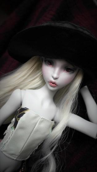 Short Tsukifly Lillycat Cerisedolls Green corset