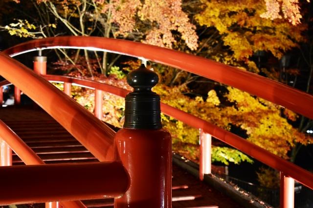 伊香保温泉の紅葉