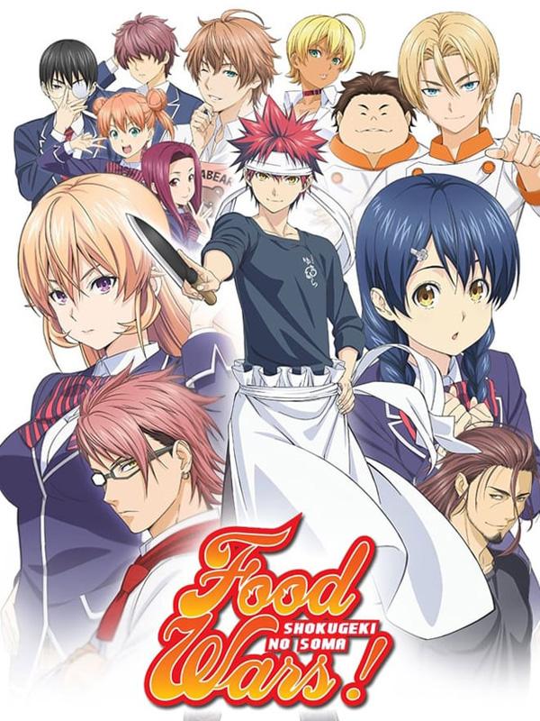 Affiche de l'anime Food wars