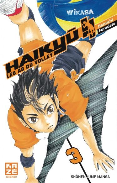 Haikyû!! tome 3