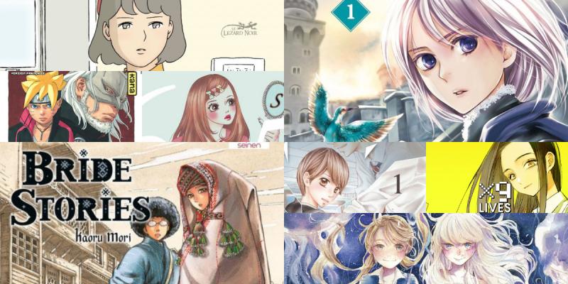 Achats mangas d'avril 2021