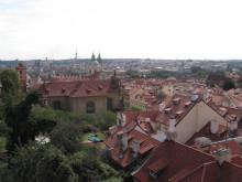 $小さな動物園-プラハ城からの眺め
