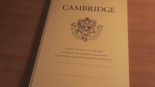 大判の超堅いノート「ケンブリッジ(Cambridge)」を使い始める!!