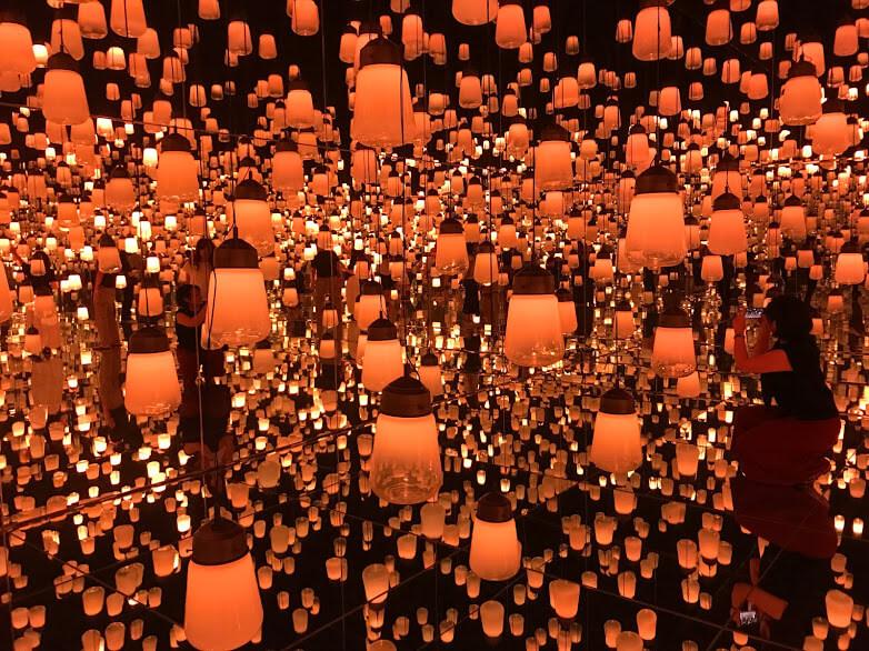 ランプの森単色
