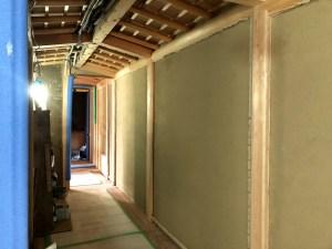 数寄屋 木製建具 土壁墨付け手刻み