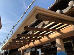 紬建築土壁石場建て伝統構法