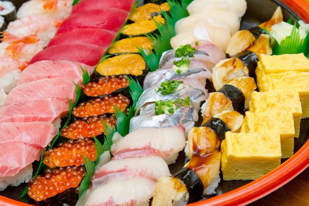 持ち帰り寿司の画像
