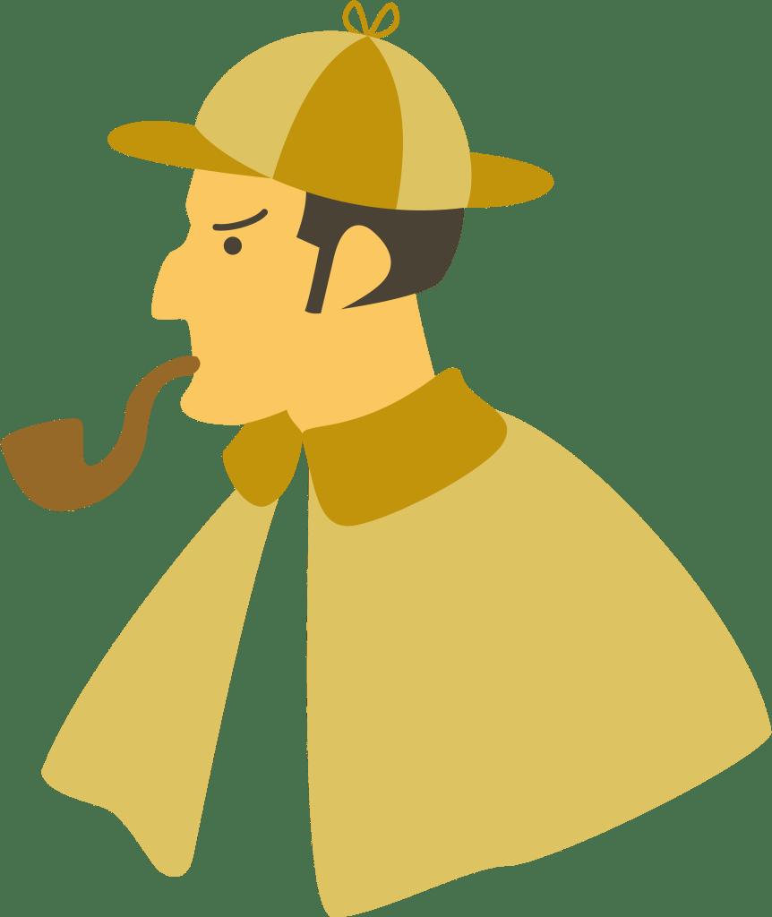 探偵のイメージイラスト