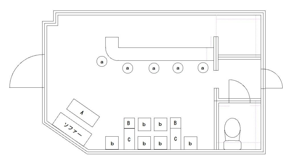 客席配置図