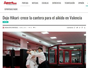 Artículo sobre aikido en valencia