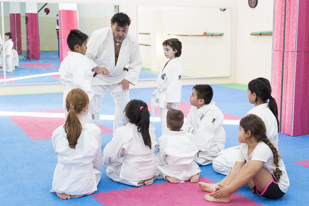 clase de aikido infantil en valencia