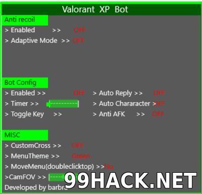 Valorant XP Farming Bot