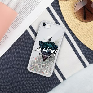 Tsunami Liquid Glitter iPhone Case