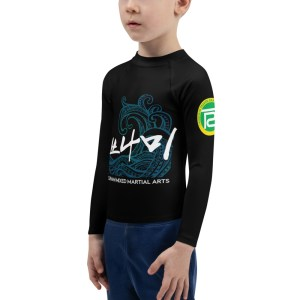 BJJ & TKD Kids Rash Guard