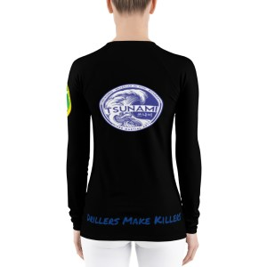 BJJ Women's Rash Guard (drillers make killers)