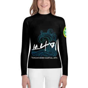 BJJ & TKD Youth Rash Guard