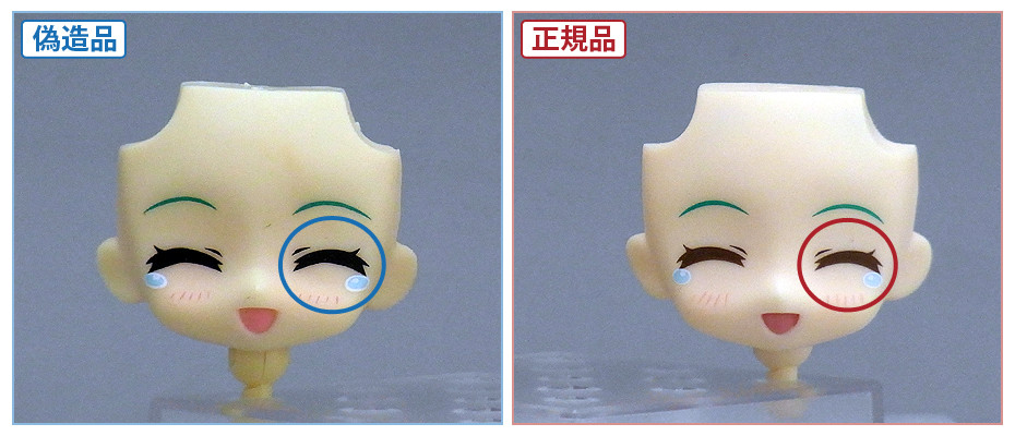 How to tell if a figure is real or fake (5/6)