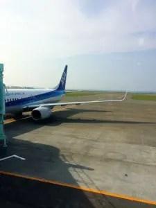 稚内旅行飛行機駐機