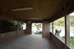 荒平神社神事建物小屋内部
