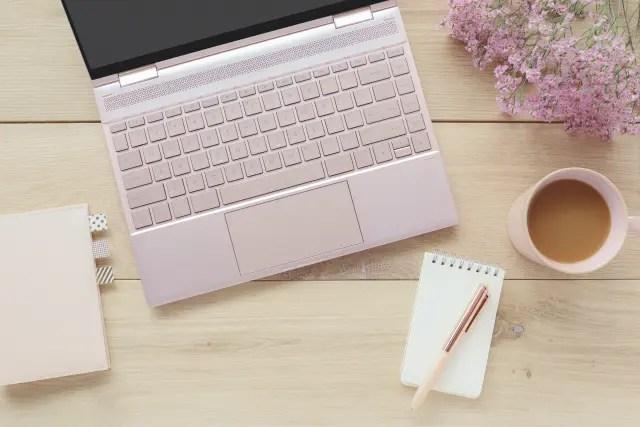 可愛いノートパソコン