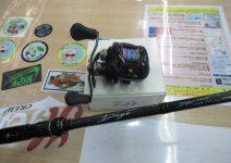 ダイワのタトゥーラHD150H-TW、メジャークラフトのデイズDYC-70X