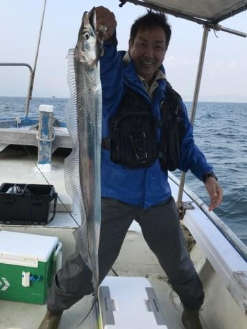 11月4日の釣果(タチウオ)