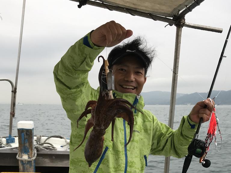 6月15日(金)の釣果(マダコ)
