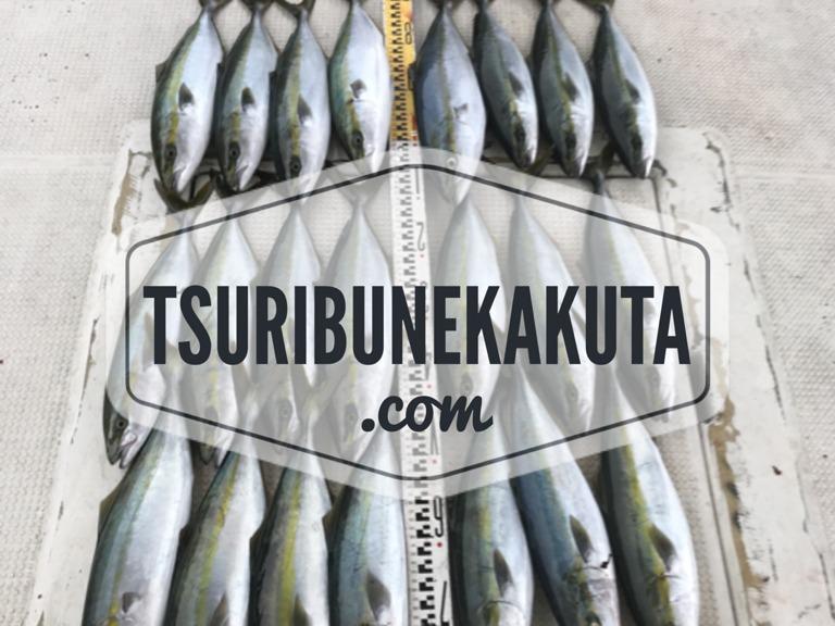 呑ませやタチウオ釣りの釣り船予約は明石の釣り船角田にお任せ