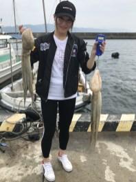 2019-7-27-マダコ2.1kgと1.5kg