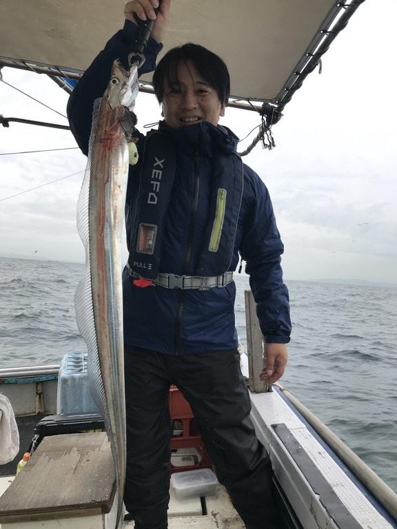 10月21日(月)の釣果(タチウオ)