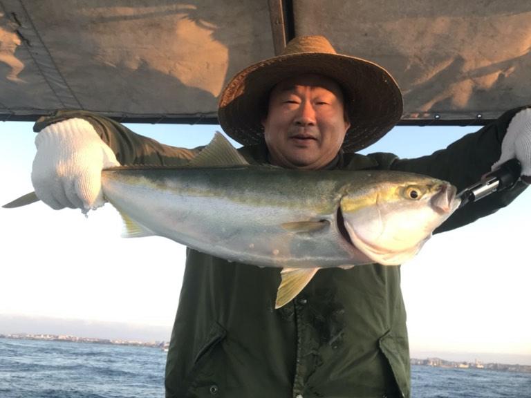 11月10日(日)の釣果(サワラ・メジロなど)