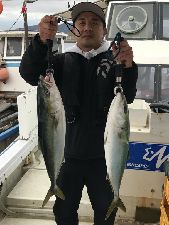 2019-12-18-メジロ2匹などの釣果