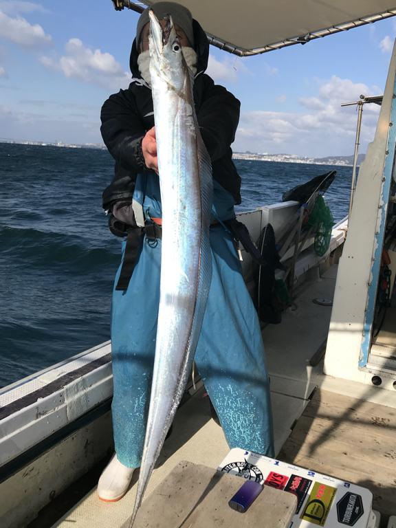 2020-1-5-太刀魚(スタッフ釣果)