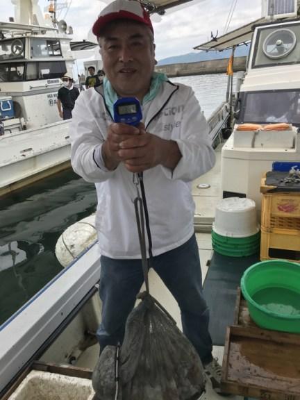 2020-6-22-マダコ釣果総重量13.51kg