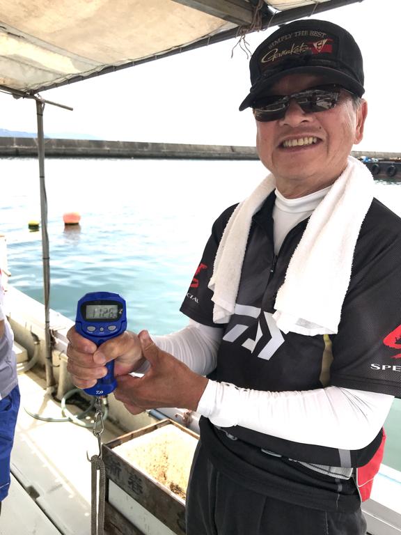 2020-7-16-マダコ15杯釣果で総重量11.26kg