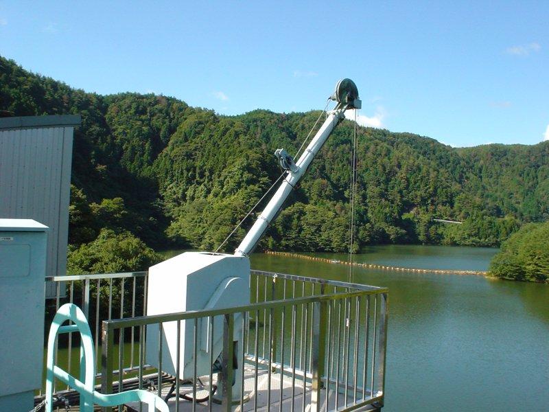 陸水観測用電動式ウインチ
