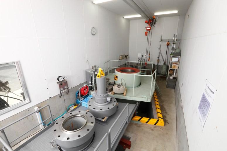 Pressure Testing Facility
