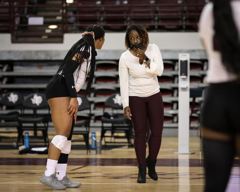 <div>Volleyball To Face SWAC Rival Prairie View A&M Monday Night At Home</div>